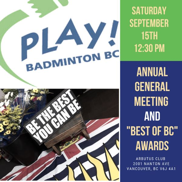 AGM | Best of BC Awards