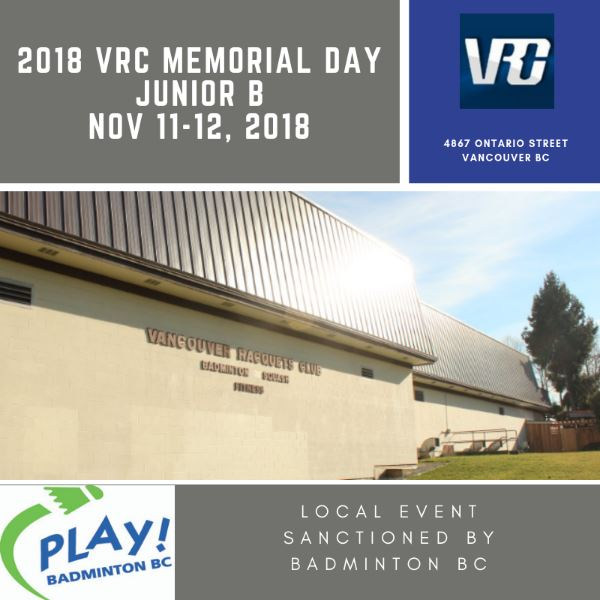 2018 VRC Memorial Day Junior B