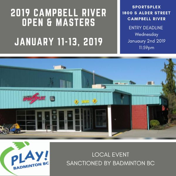 2019 Campbell River Open & Masters Tournamen9