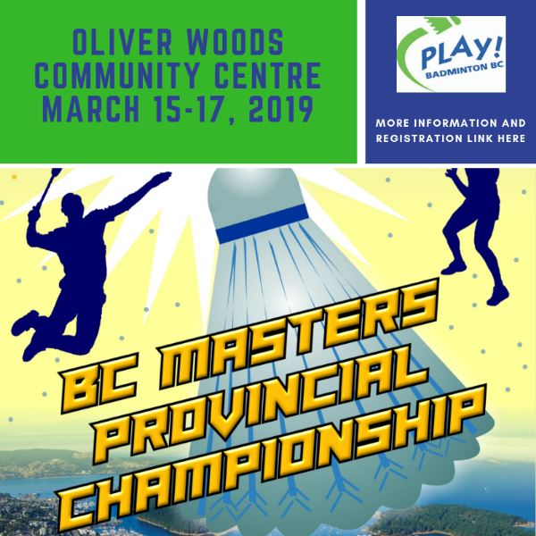 2019 BC Masters Provincial Championship