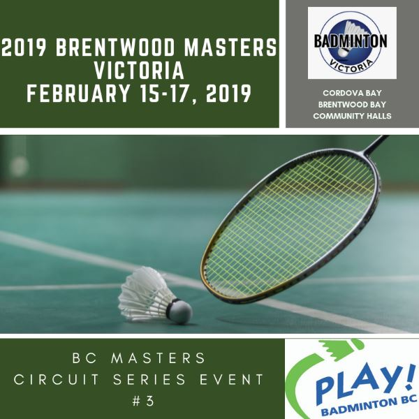 BC Masters Circuit #3 - 2019 Brentwood Masters
