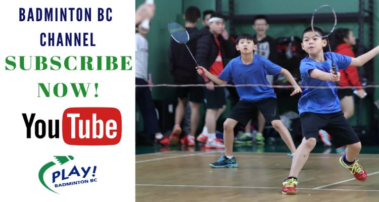 Badminton BC Now Has YouTube Channel!