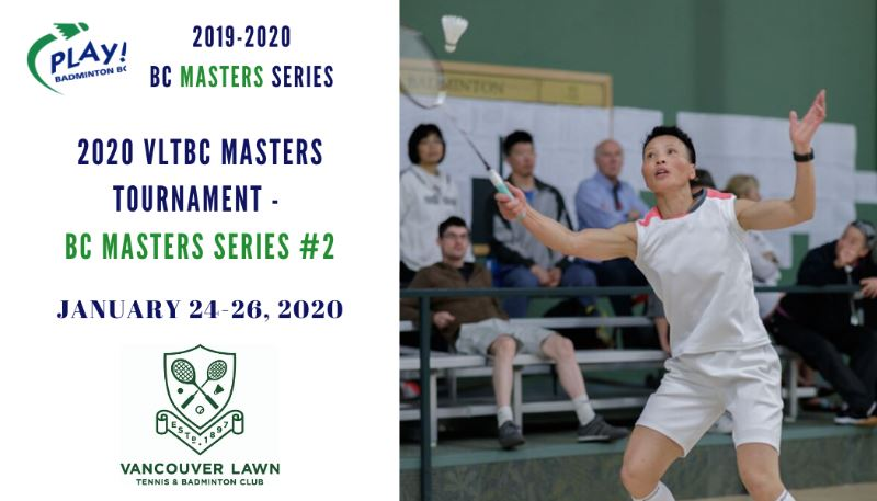 2020 VLTBC Masters Tournament - BC Masters Series Event #2