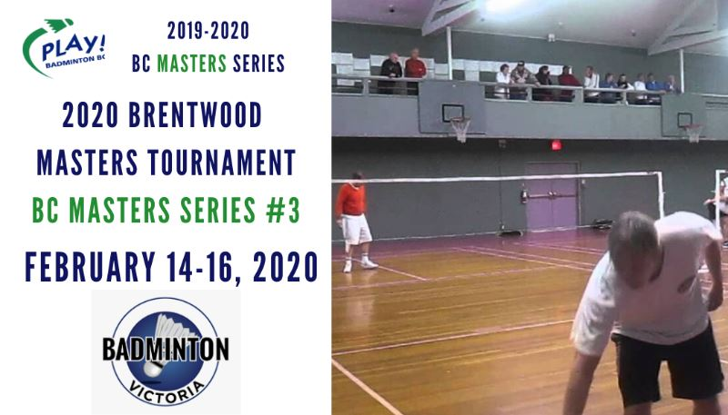 2020 Brentwood Masters - BC Masters Series Event #3